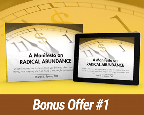 Bonus Offer #1: A Manifesto on Radical Abundance