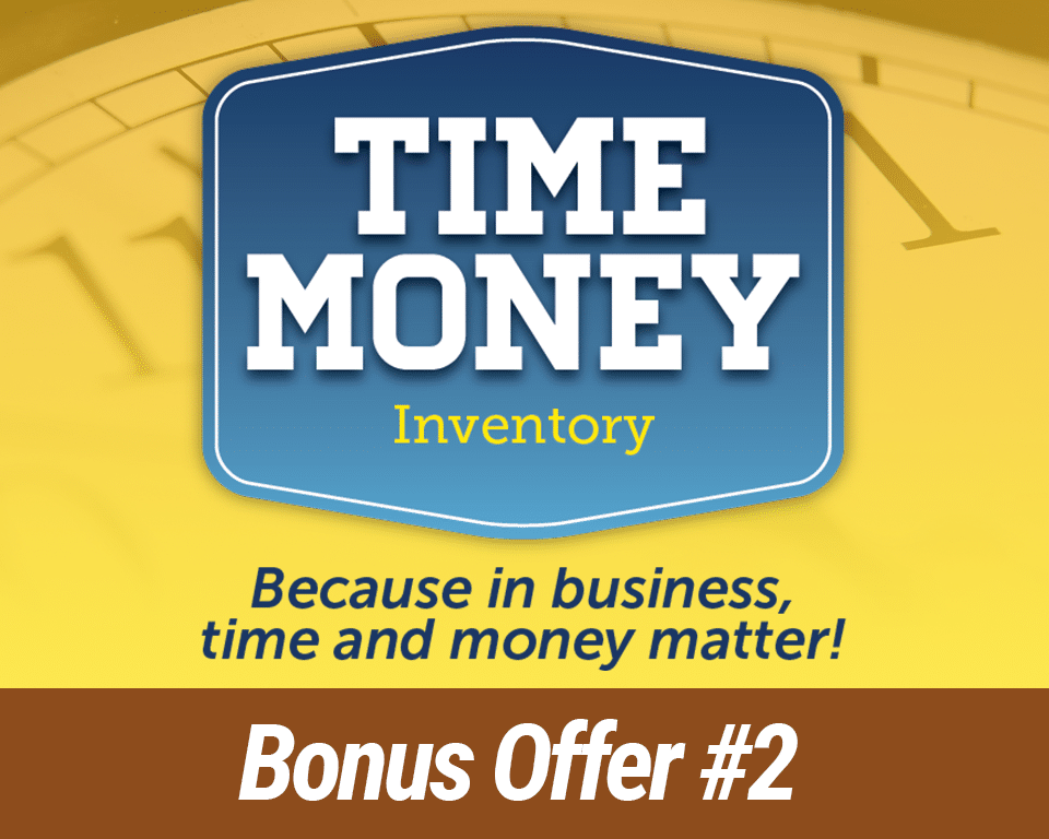 Bonus Offer #2: The Time Money Inventory